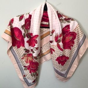 Vince Camuto Floral Scarf